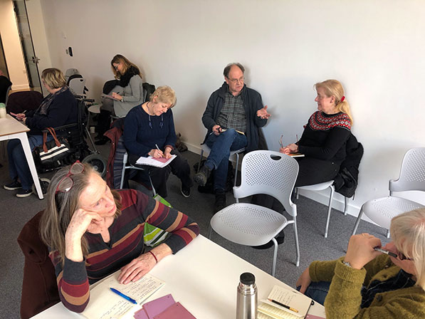 Space Place Practice seminar, Feb 2020